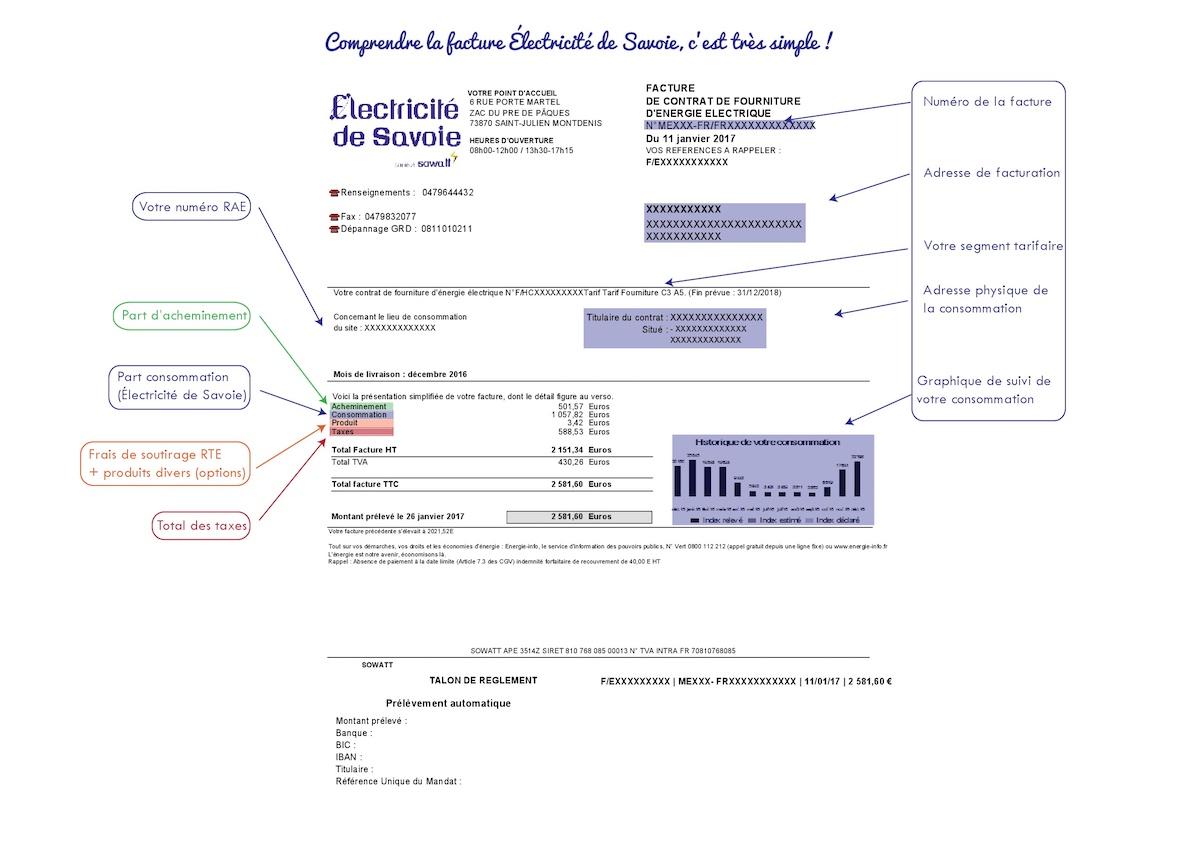 Explication facture C2-C3 (ex-Vert) EdS page 1 01-08-16